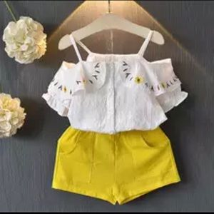 Other - Toddler girls shorts outfit
